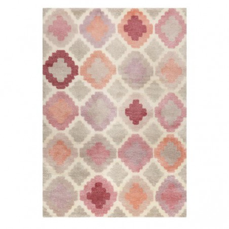 Tapis Salon Nilas Haute Kelim Rose par Esprit Home