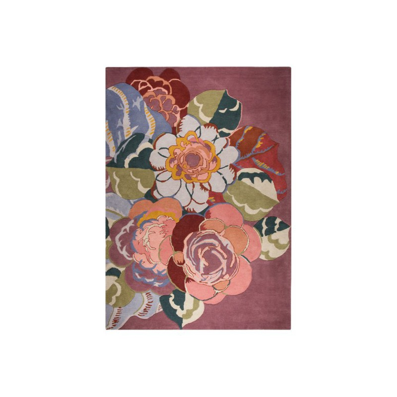 Tapis design V&A Rosa par Luxmi
