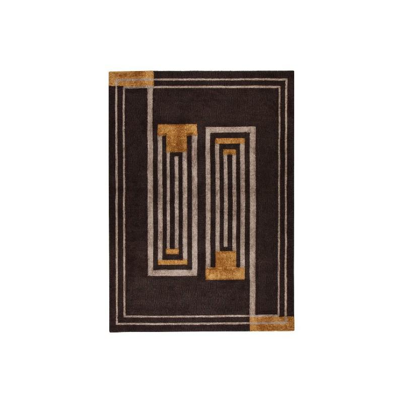 Tapis design tufté main V&A Moderne par Luxmi