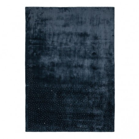 Tapis design tufté main Swarovski Midnight par Luxmi