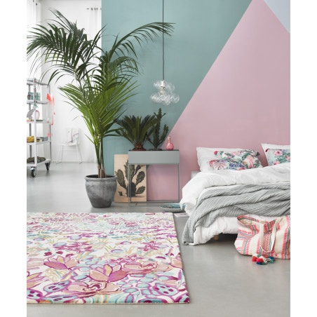 Tapis moderne Splash Bouquet