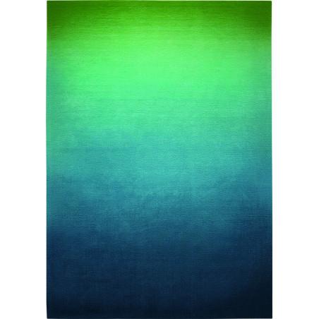 Tapis Moderne Sunrise Vert