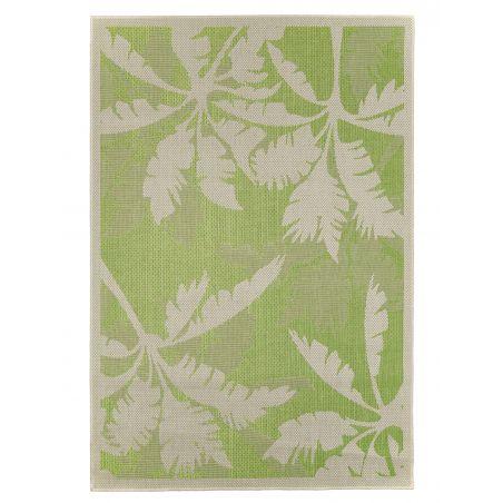 Tapis d'Extérieur Collection Tropical Palms Green