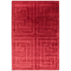 Tapis rouge design - Couleurs vives - Tapis Chic