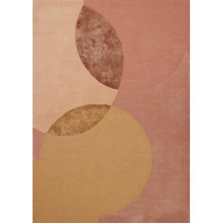 Tapis Design Caldera Moutarde