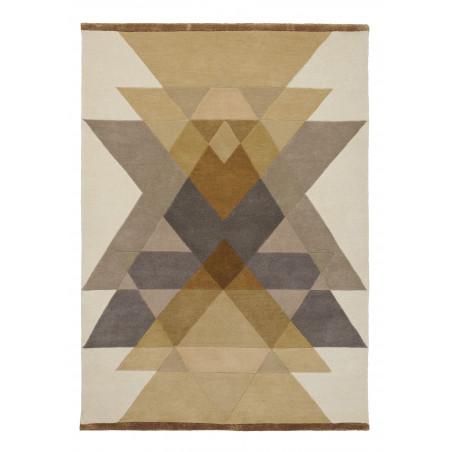Tapis Design Freya Mustard