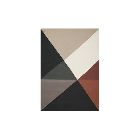 Tapis Design Metri rust
