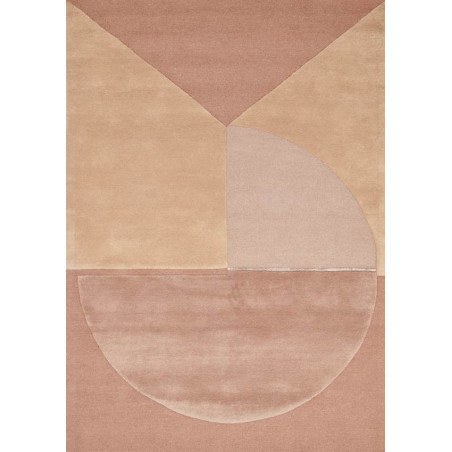 Tapis Design Satomi rose
