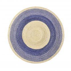 Tapis rond violet pas cher 150cm, 200cm, 250cm - Tapis Chic