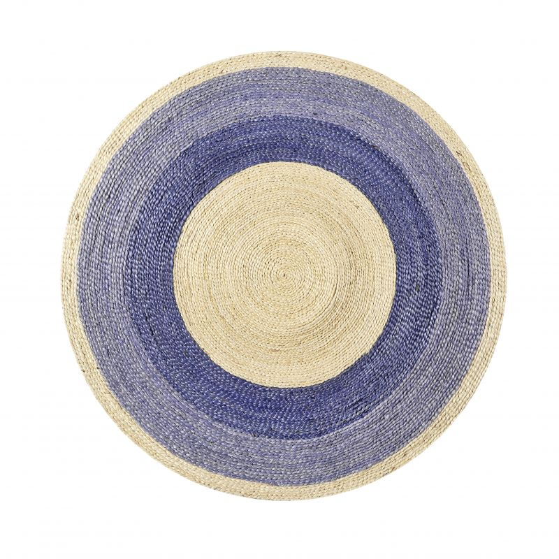 Tapis Rond Beach House violet