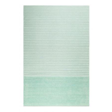 Tapis Design Waves Kelim vert