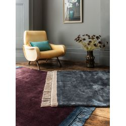 Tapis violet design - Couleurs vives - Tapis Chic