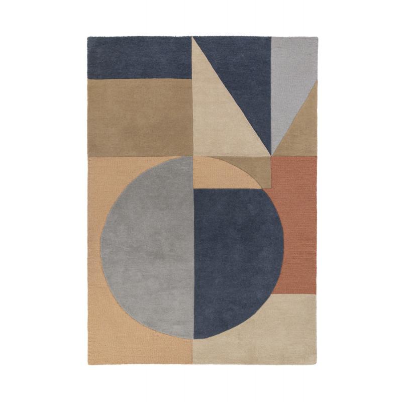Tapis Design Géométrique Moderno Esre multicolore