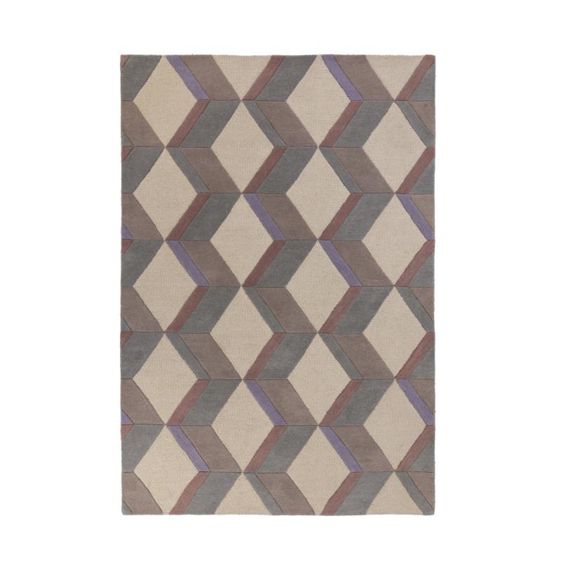 Tapis Design Géométrique Moderno Brent naturel