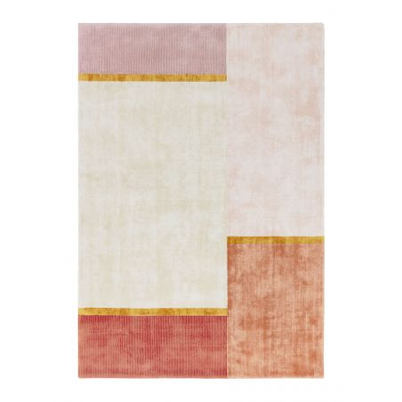 Tapis Coloré Unite Rose
