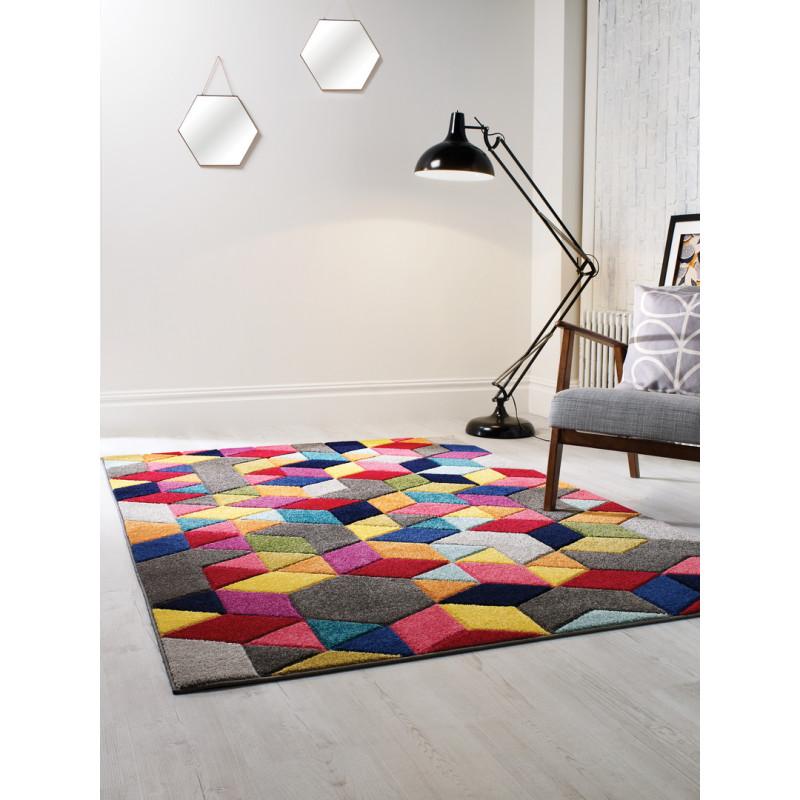 Tapis design multicolore par Flair Rugs