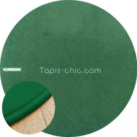 Tapis sur mesure rond Vert Sapin par Vorwerk gammeModena