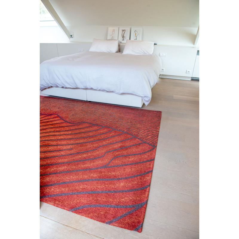 Tapis de salon Shores Orinoco Flow en coton et polyester