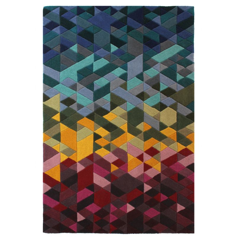 Tapis Design Multicolore Kingston
