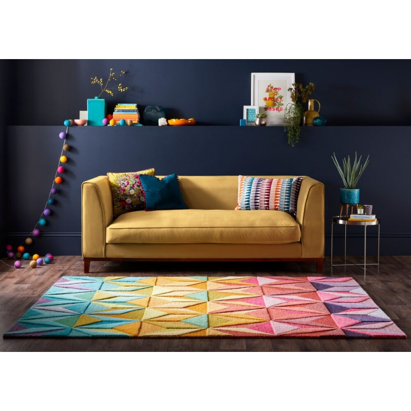 Tapis design rêverie multicolore