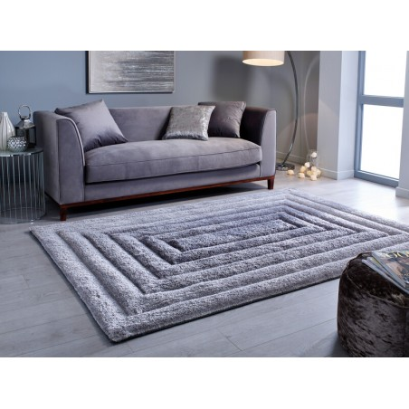 Tapis de salon degradé de gris Flair Rugs