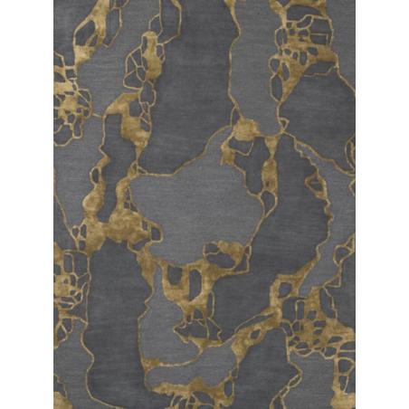 Tapis Design ARCO Ocre par Linie Design