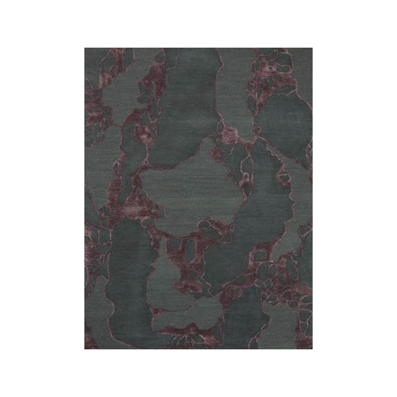 Tapis Design ARCO Bordeaux par Linie Design