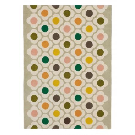 photo principale du tapis fleuri en laine par Orla Kiely