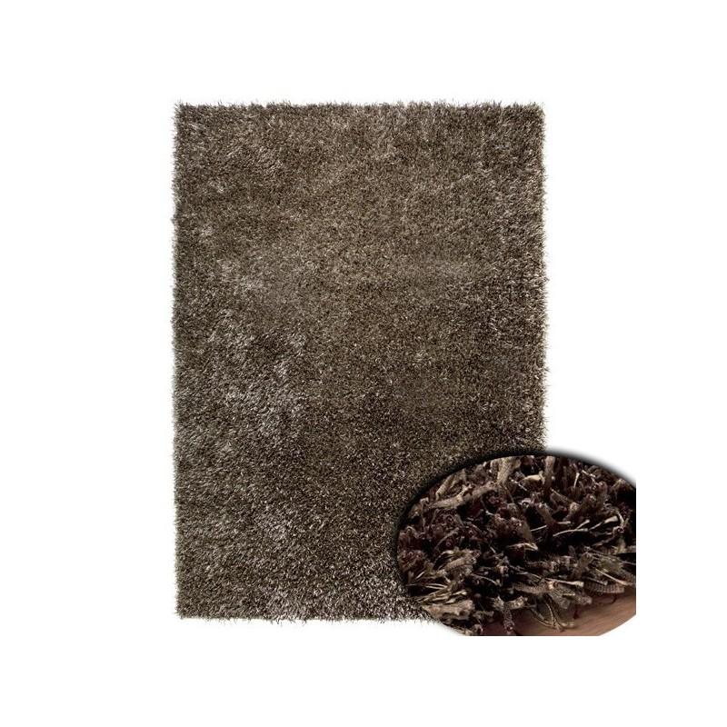 Tapis shaggy chocolat bronze Esprit Home