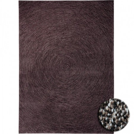 Tapis Colour in Motion Marron par Esprit Home rectangulaire, carré ou rond