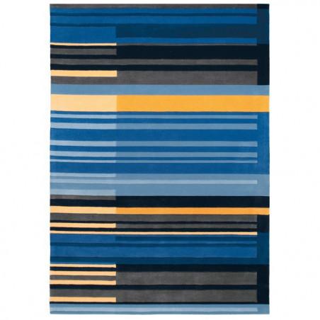 Tapis Design Colour Codes Bleu par Arte Espina
