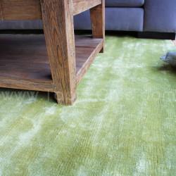Tapis vert design - Couleurs vives - Tapis Chic