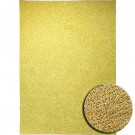 Tapis Colour in Motion Jaune par Esprit Home rectangulaire, carré ou rond
