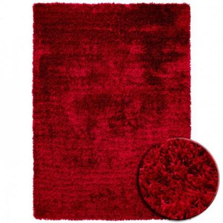 Tapis Shaggy Rouge New Glamour par Esprit Home