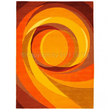 Tapis Design Set Highlights orange par Arte Espina