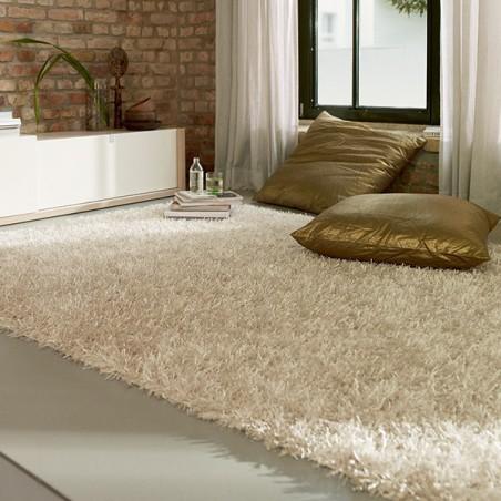 tapis shaggy blanc ivoire esprit home. Black Bedroom Furniture Sets. Home Design Ideas