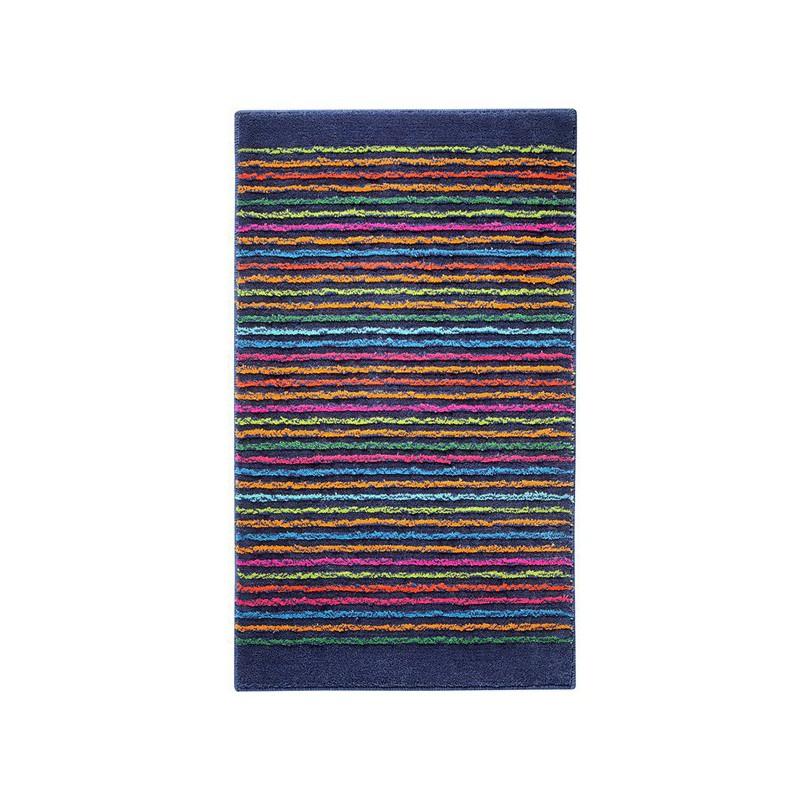Tapis de Salle de Bain Bleu foncé Cool Stripes par Esprit Home