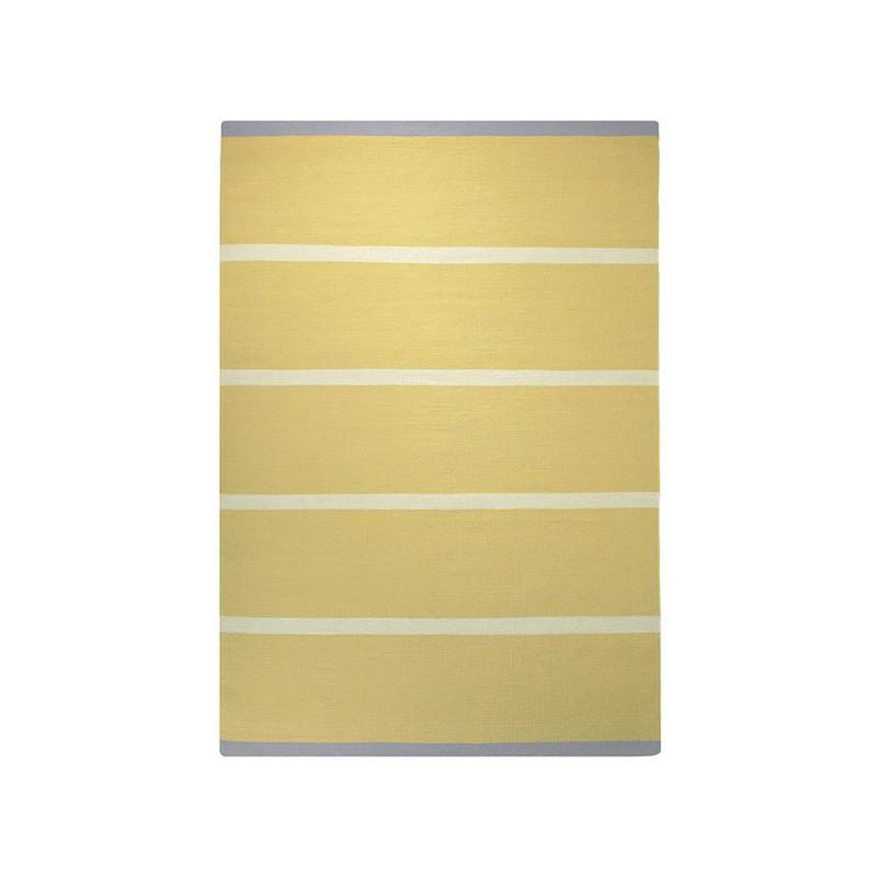 Tapis Tissé Main Simple Stripe Jaune par Esprit Home