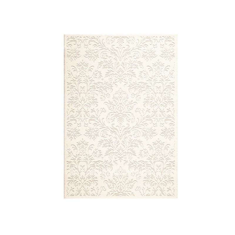 Tapis en laine blanc nacré par Tapis Chic Collection