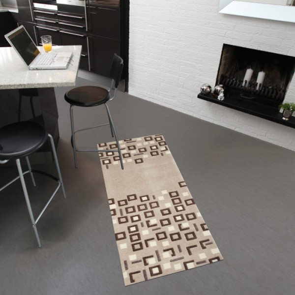Tapis lavable en machine living mats pratique tapis for Tapis de cuisine original