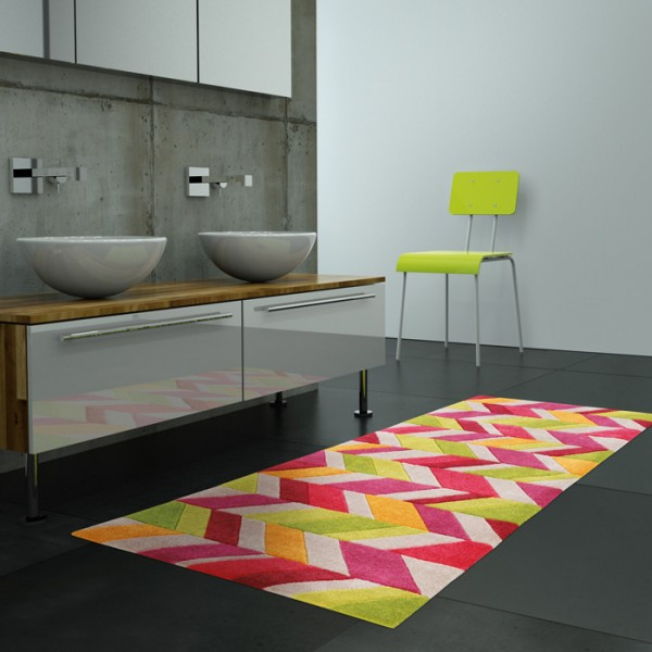 Tapis lavable en machine living mats pratique tapis - Grand tapis de salle de bain ...