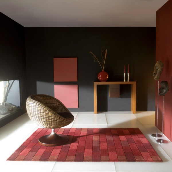 Nouveaut d co tapis carving tapis chic le blog - Tapis rouge de salon ...