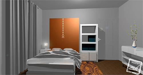 Astuces d co chambre moderne tapis chic le blog for Decoration chambre principale