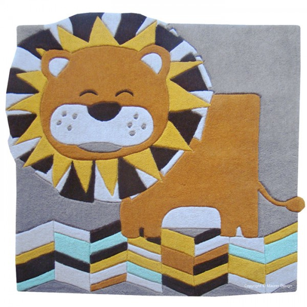 Tapis carr design et moderne tapis chic le blog for Tapis chambre d enfants