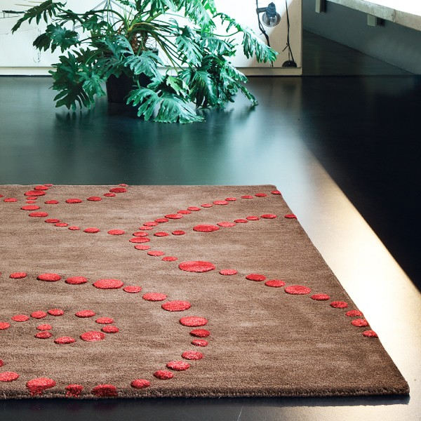 Beautiful Tapis Marron Et Rouge Images - House Design ...