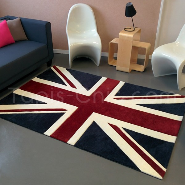 le tapis moderne version british london calling tapis. Black Bedroom Furniture Sets. Home Design Ideas