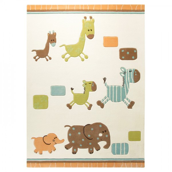 le tapis pour enfant lucky zoo par esprit home tapis chic le blog. Black Bedroom Furniture Sets. Home Design Ideas