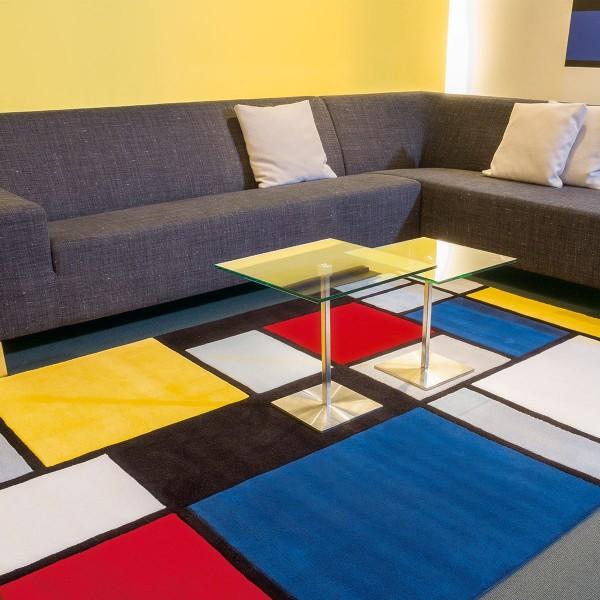 Tapis de Salon Pop Coloured Cubes par Arte Espina