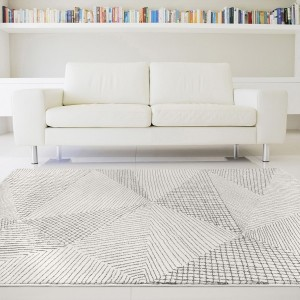 pourquoi les tapis design gris restent ils tendance tapis chic le blog. Black Bedroom Furniture Sets. Home Design Ideas