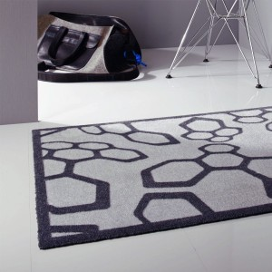 Paillasson gris et gris anthracite par Tapis Chic Collection